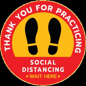 Social Distancing Symbol