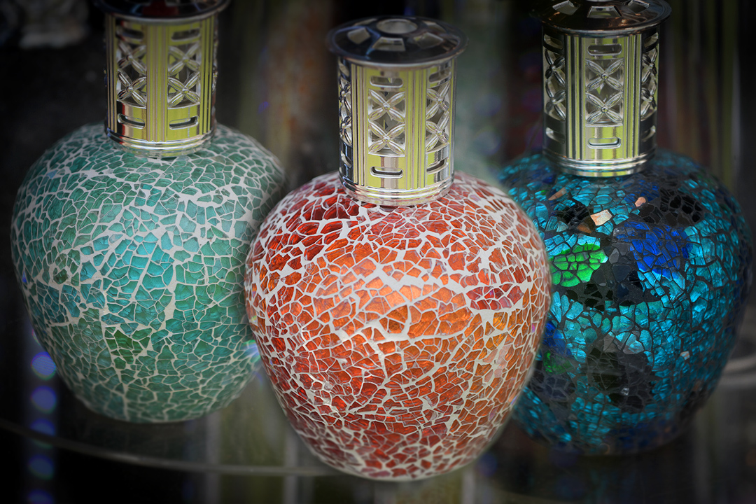 Decorative bottles glassware
